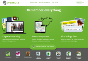 The Best Way to Build Student E-Portfolios: Use Evernote
