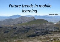 Future trends in mobile learning - the wider context and tensions